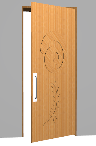 The ... & Cadimage Blog » Custom Door Leaf
